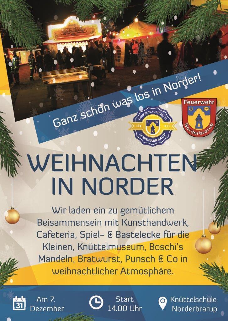 Weihnachten in Norder