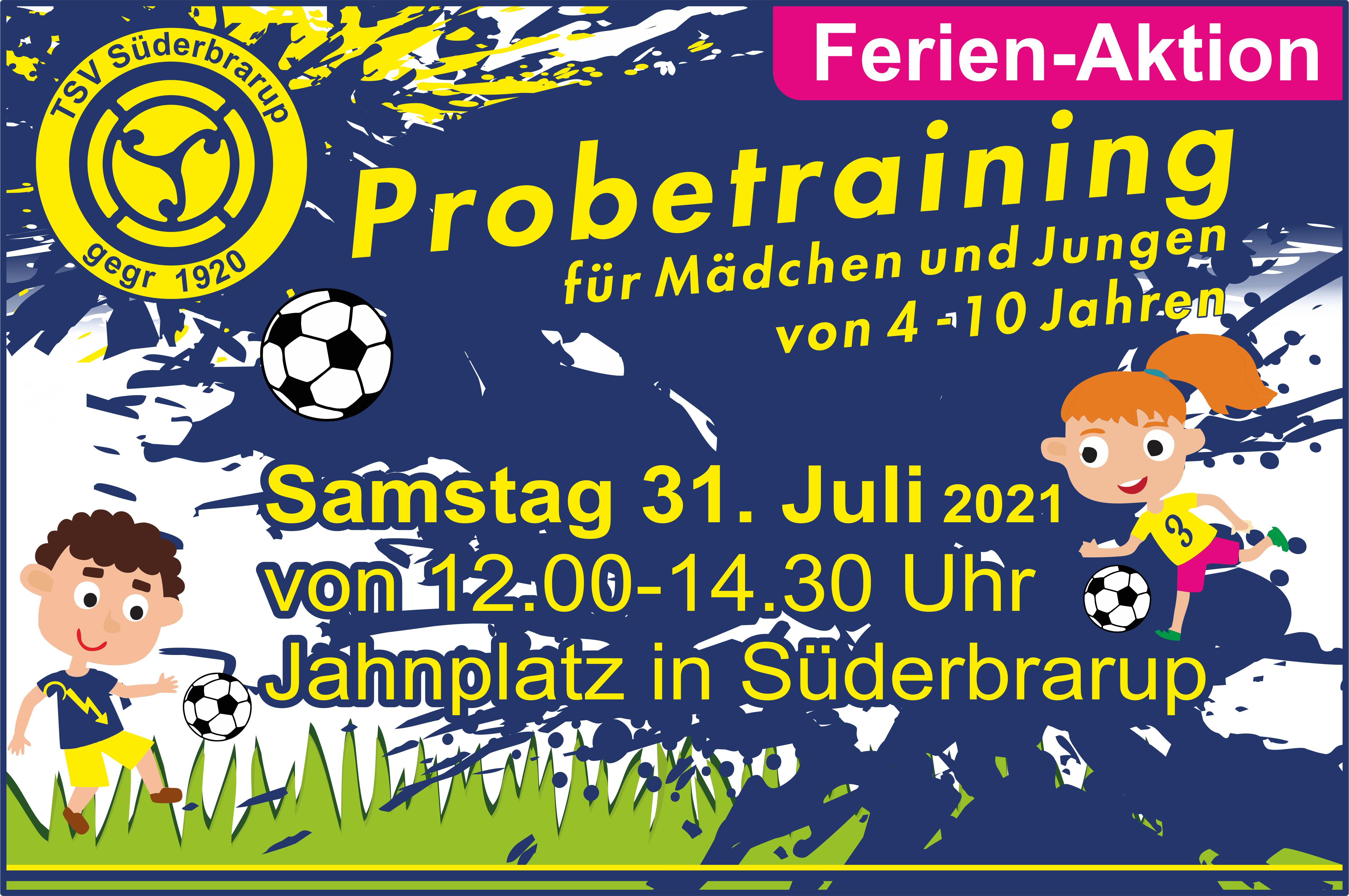 Probetraining SG Süderbrarup/Angeln
