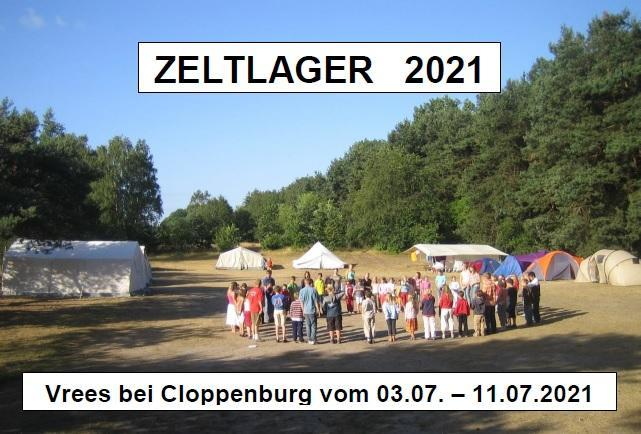 Zeltlager 2001 in Vrees bei Cloppenburgg